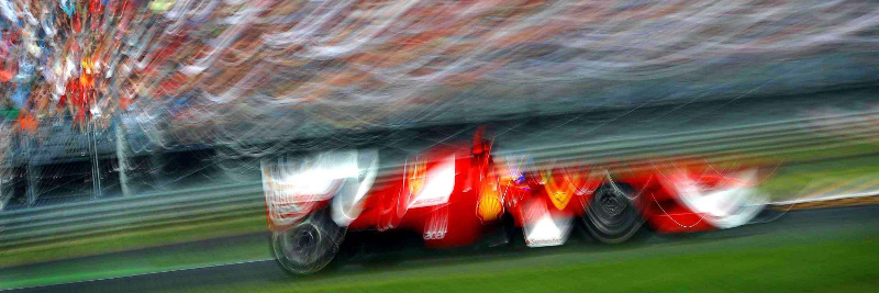 Spanish Formula One driver Fernando Alonso of Ferrari steers his car  during the first practice session at the race track Autodromo Nazionale Monza, Italy, 09 September 2011. The Formula One Grand Prix of Italy will take place on 11 September 2011. Photo: David Ebener dpa  +++(c) dpa - Bildfunk+++  -ALLIANCE-INFOPHOTO
