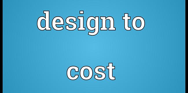 designtocost