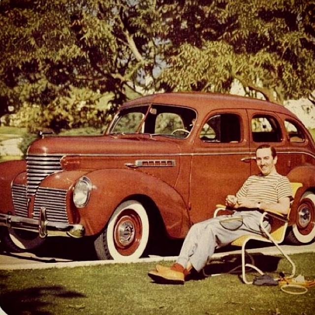 La Passione Per Le Automobili Di Walt Disney