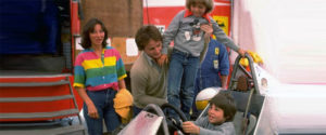 Aug 1979:  Gilles Villeneuve puts son Jacques at the Controls of his  Ferrari Formula One racing car whilst  being  pictured with his family in the Ferrari paddock during the 1979 formula one racing season Mandatory Credit: Allsport/ALLSPORT