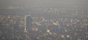 Foto LaPresse/Stefano Guidi 22 12 2018 Torino (Italia) cronaca Panoramica dell'inquinamento a Torino   Photo LaPresse/Stefano Guidi 22 12 2018 Turin (Italy) news Overview of Air pollution in Turin