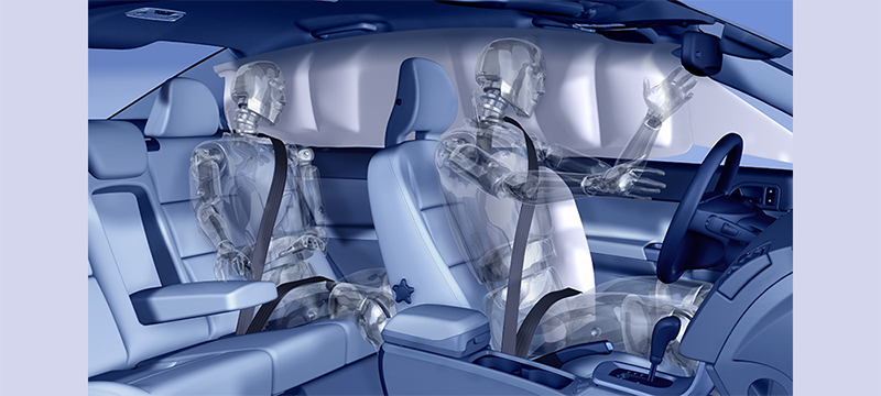 Volvo Cars Safety innovation Door Moutained Inflatable Curtain