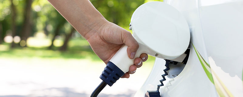 Charging of an electric car